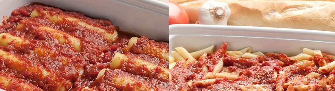 Caterer for pasta