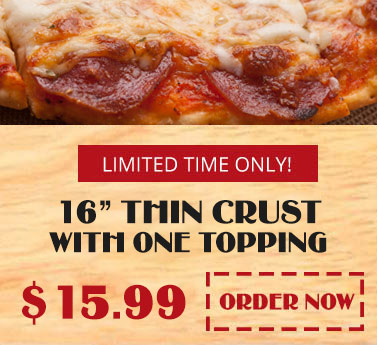 Limited time pizza special